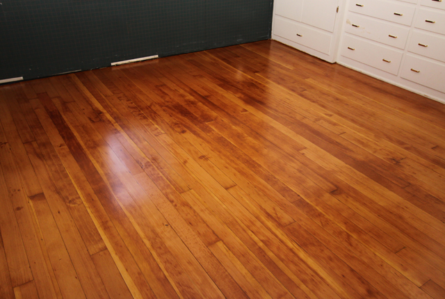 Fir Clear Vertical Grain Hardwood Floor